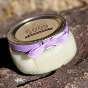 natural lavendar sugar scrub