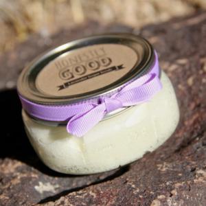 natural lavendar sugar scrub